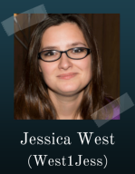 Jessica West is a freelance writer and editor and an independent author. She's the Pro Domme at Prose Before Ho Hos (see also Madame Editor), and maintains both a personal and bookish blog. Her newest release, Red River Rangers; A Whiskey & Wheelguns Novelette, is available at Amazon. west1jess.com